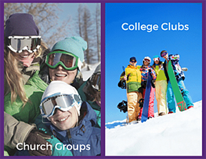 church groups and college groups
