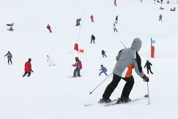 learn to ski and snow board month